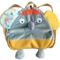 Sac à dos Ziggy l'éléphant - Jungle Boogie - Ebulobo
