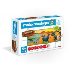 Moulage en plâtre Savane 6 moules - Mako Créations