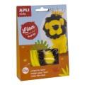 Kit créatif chenille lion - Apli Kids
