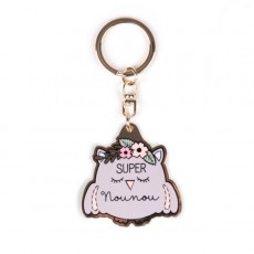 Porte-clés Super Nounou - Créa bisontine