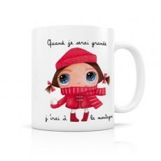 Mug céramique Montagne - Quand je serai grand(e) par Isabelle Kessedjian