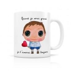 Mug céramique Toujours - Quand je serai grand(e) par Isabelle Kessedjian