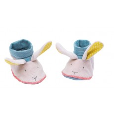 Chaussons lapin - Mademoiselle et Ribambelle -  Moulin Roty