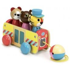 Bus à traîner par Ingela P, Arrhenius - Vilac