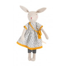 Peluche lapin Maman Rose - La Famille Mirabelle - Moulin Roty
