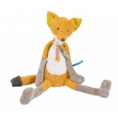 Peluche Grand renard Chaussette  - Le voyage d'Olga - Moulin Roty