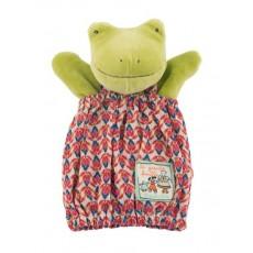 Marionnette Perlettes la grenouille - La Grande Famille - Moulin Roty