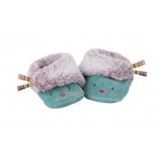 Chaussons bleue  Les Pachats - Moulin Roty