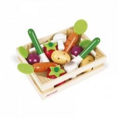 Cagette de 12 légumes - Janod