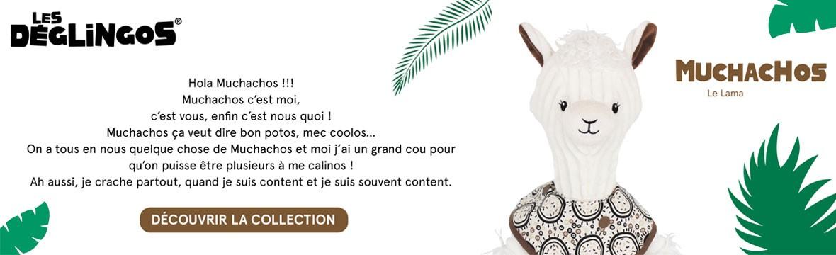 Nouvelle collection Muchachos par Les Déglingos chez Jouet de Famille